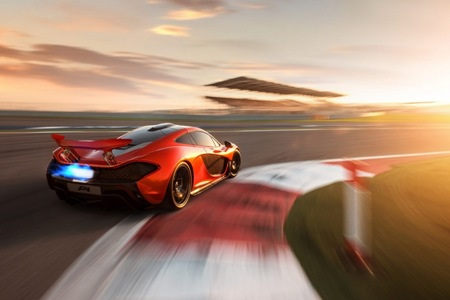 Xe McLaren P1 có tốc độ cực đại 350 km/h